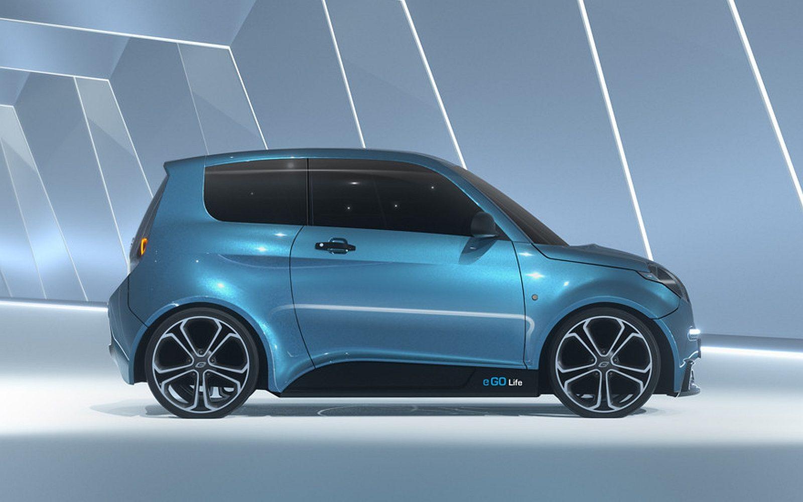 Goedkoopste elektrische auto, de e.GO!