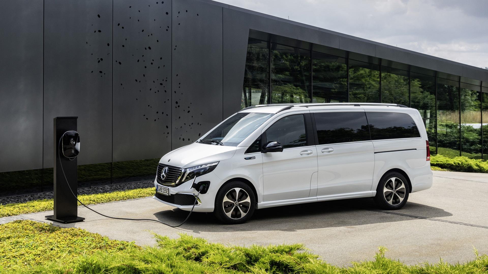 Mercedes presenteert de EQV in september