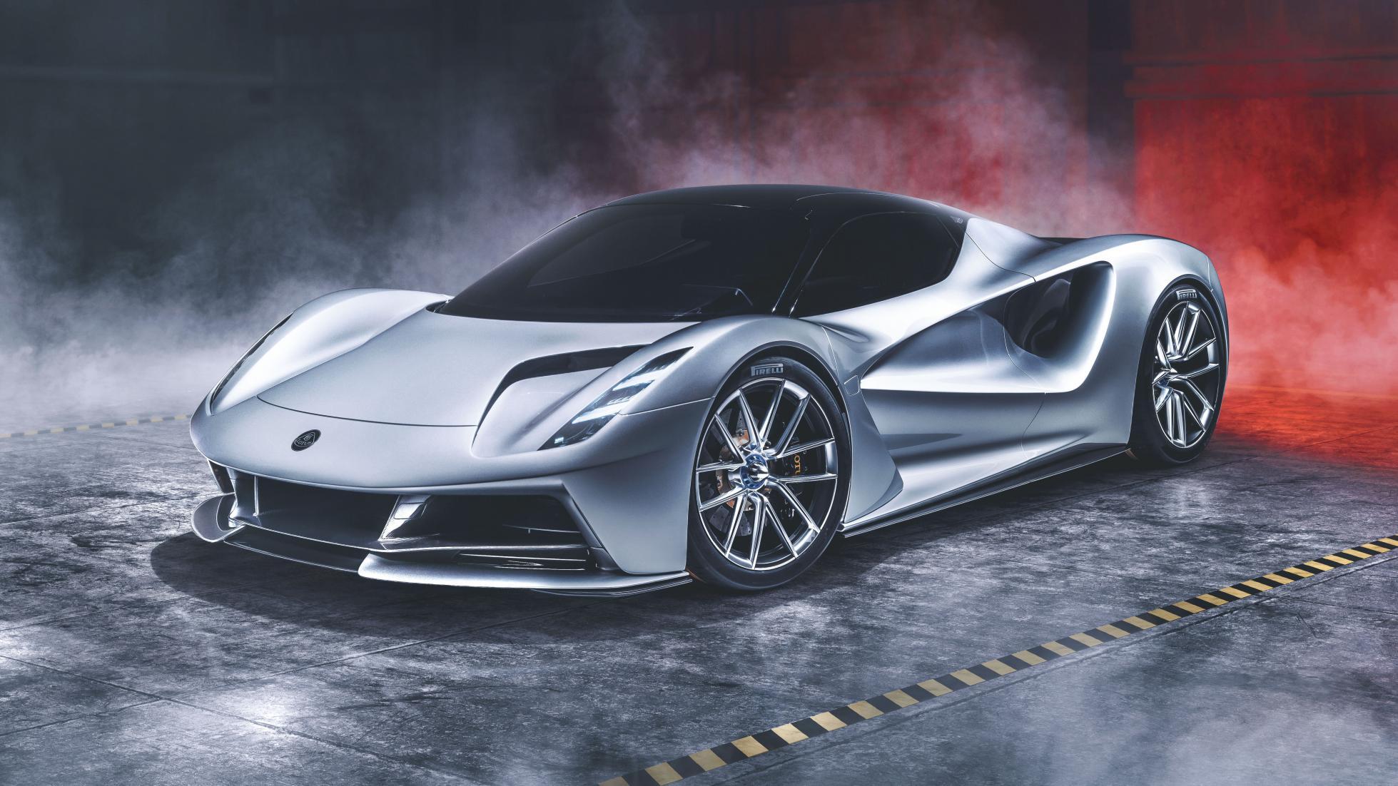 Lotus Evija een elektrische supercar