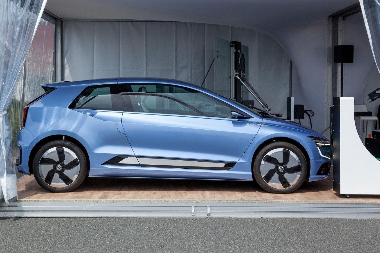 Aankondiging nieuwe Volkswagen Golf EV