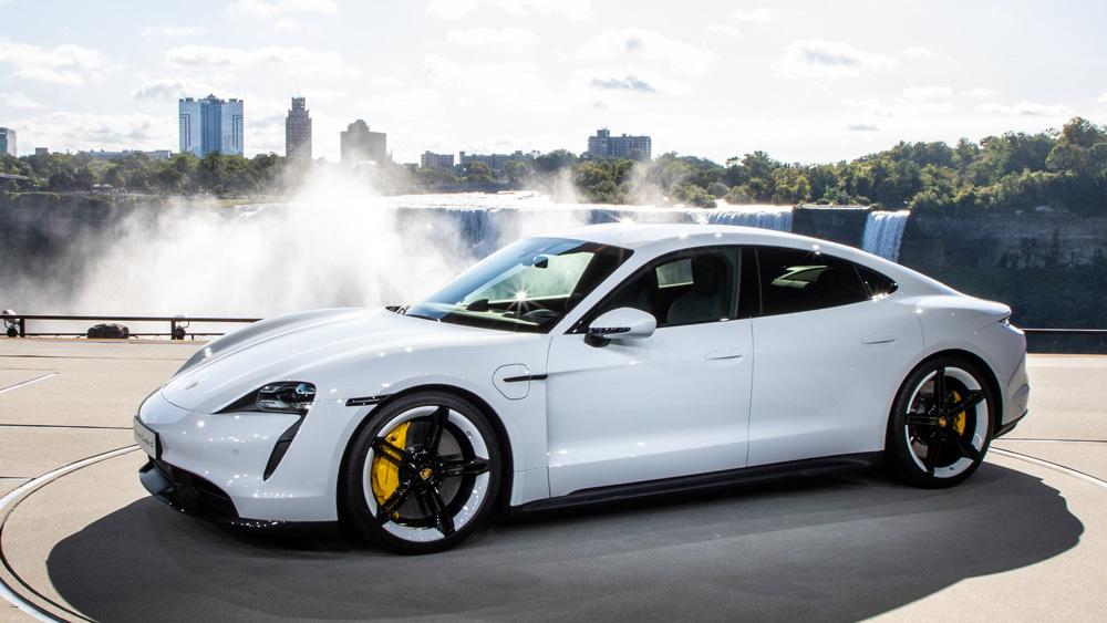 Porsche Taycan volledig elektrisch