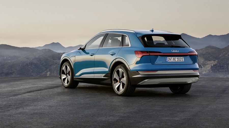 Audi e-tron een elektrische SUV