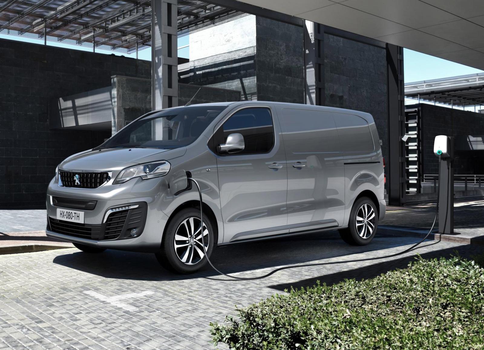 Bestelauto's Citroën ë-Jumpy en Peugeot e-Expert nu ook elektrisch