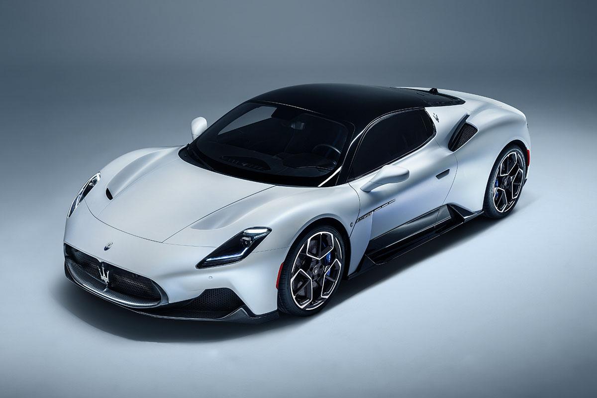 Maserati ontwikkelt elektrische versie voor de MC20