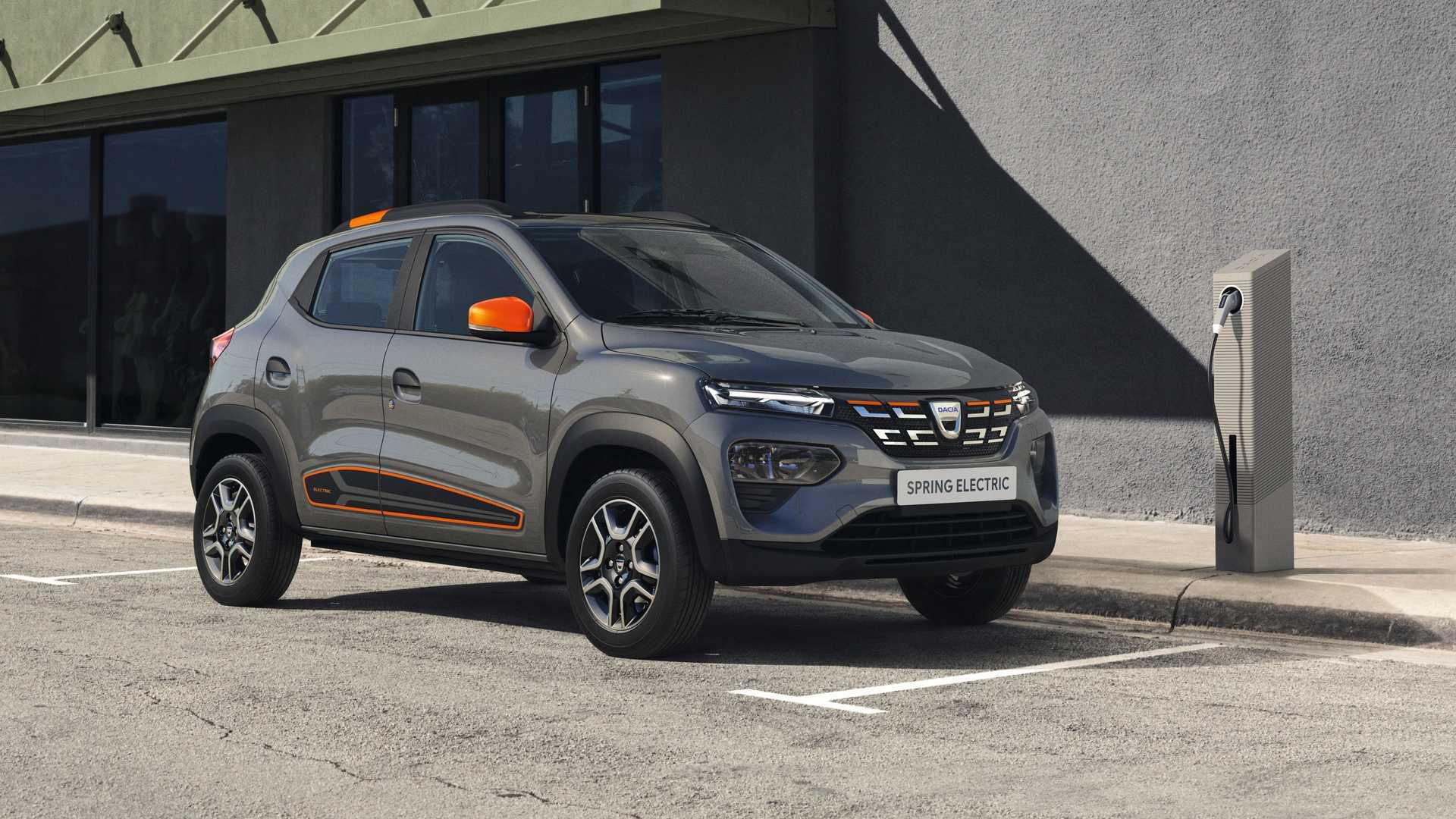 Dacia naar Spring Electric
