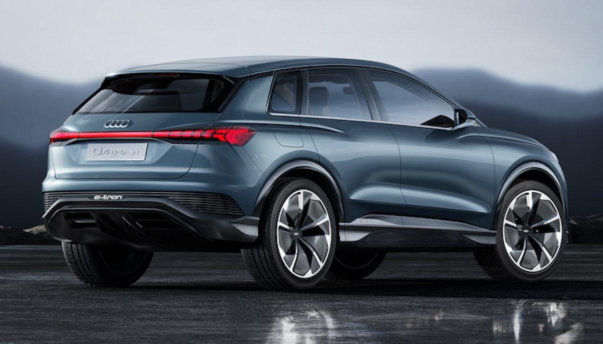 Audi introduceert de Q4 e-tron
