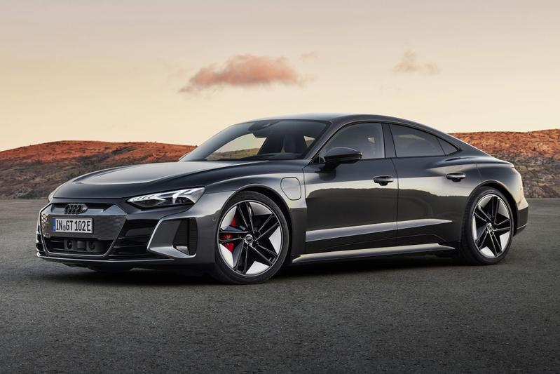 Audi presenteert de E-tron GT