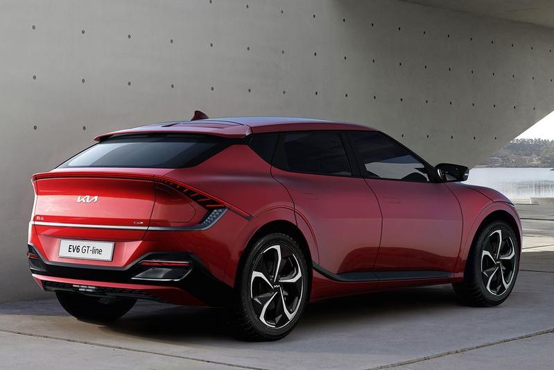 De nieuwe Kia EV6